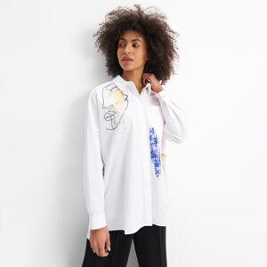 Mohito - Bavlněná košile Eco Aware - Bílá