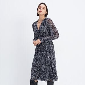 Mohito - Zavinovací šaty - Černý