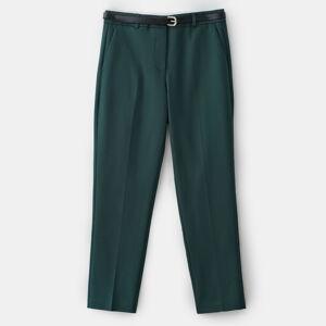 Mohito - Cigaretové kalhoty spáskem - Khaki