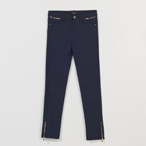 Mohito - Kalhoty skinny fit - Modrá