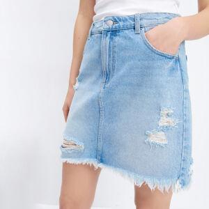Mohito - Džínová mini sukně - Modrá